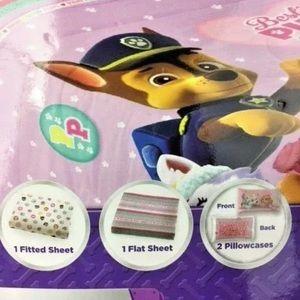 Nickelodeon Accessories - Paw Patrol Microfiber Soft 4 Piece Full Sheet Set